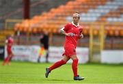 8 August 2020; Pearl Slattery of Shelbourne during the FAI Women's National League match between Shelbourne and Cork City at Tolka Park in Dublin. Photo by Eóin Noonan/Sportsfile