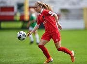 8 August 2020; Isibeal Atkinson of Shelbourne during the FAI Women's National League match between Shelbourne and Cork City at Tolka Park in Dublin. Photo by Eóin Noonan/Sportsfile