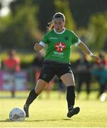 8 August 2020; Megan Smyth-Lynch of Peamount United during the FAI Women's National League match between Peamount United and Treaty United at PRL Park in Greenogue, Dublin. Photo by Seb Daly/Sportsfile