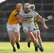 8 August 2020; Robbie Egan of Kilmallock in action against Evan Enright of Ahane at the Limerick County Senior Hurling Championship Section A Group 2 Round 3 match between Kilmallock and Ahane at LIT Gaelic Grounds in Limerick. Photo by Matt Browne/Sportsfile
