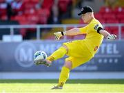 8 August 2020; Sligo Rovers goalkeeper Ed McGinty during the SSE Airtricity League Premier Division match between Sligo Rovers and Shelbourne at The Showgrounds in Sligo. Photo by Stephen McCarthy/Sportsfile