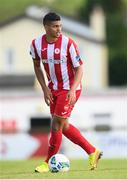 8 August 2020; Ryan De Vries of Sligo Rovers during the SSE Airtricity League Premier Division match between Sligo Rovers and Shelbourne at The Showgrounds in Sligo. Photo by Stephen McCarthy/Sportsfile