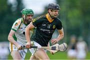 9 August 2020; Tadhg Deasy of Blackrock in action against Mattie Ryan of Newtownshandrum during the Cork County Senior Hurling Championship Group B Round 2 match between Newtownshandrum and Blackrock at Mallow GAA Grounds in Mallow, Cork. Photo by Piaras Ó Mídheach/Sportsfile