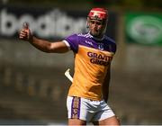 9 August 2020; Lee Chin of Faythe Harriers following the Wexford County Senior Hurling Championship Quarter-Final match between Faythe Harriers and Shelmaliers at Chadwicks Wexford Park in Wexford. Photo by Harry Murphy/Sportsfile