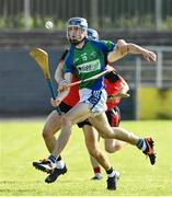 9 August 2020; Brendan Lynch of Tynagh Abbey Duniry in action against Cathal Tuohy of Tommy Larkins during the Galway County Senior Hurling Championship Group 1 match between Tommy Larkins and Tynagh Abbey Duniry at Duggan Park in Ballinasloe, Galway. Photo by Ramsey Cardy/Sportsfile