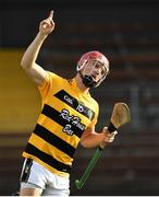 9 August 2020; Jack Prendergast of Lismore celebrates after scoring his side's first goal during the Waterford County Senior Hurling Championship Group D match between Dungarvan and Lismore at Fraher Field in Dungarvan, Waterford. Photo by Eóin Noonan/Sportsfile