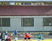 9 August 2020; Supporters watch on during the Galway County Senior Hurling Championship Group 1 match between Tommy Larkins and Tynagh Abbey Duniry at Duggan Park in Ballinasloe, Galway. Photo by Ramsey Cardy/Sportsfile