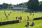 9 August 2020; A general view during the Galway County Senior Hurling Championship Group 1 match between Tommy Larkins and Tynagh Abbey Duniry at Duggan Park in Ballinasloe, Galway. Photo by Ramsey Cardy/Sportsfile