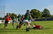 9 August 2020; Kevin Moloney of Tynagh Abbey Duniry during the Galway County Senior Hurling Championship Group 1 match between Tommy Larkins and Tynagh Abbey Duniry at Duggan Park in Ballinasloe, Galway. Photo by Ramsey Cardy/Sportsfile