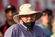 9 August 2020; A supporter looks on during the Wexford County Senior Hurling Championship Quarter-Final match between St Anne's Rathangan and Oulart-The Ballagh at Chadwicks Wexford Park in Wexford. Photo by Harry Murphy/Sportsfile