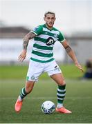 9 August 2020; Lee Grace of Shamrock Rovers during the SSE Airtricity League Premier Division match between Derry City and Shamrock Rovers at Ryan McBride Brandywell Stadium in Derry. Photo by Stephen McCarthy/Sportsfile