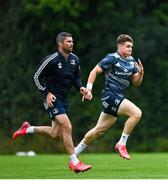 10 August 2020; Rob Kearney, left, and Garry Ringrose during Leinster Rugby squad training at UCD in Dublin. Photo by Ramsey Cardy/Sportsfile