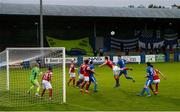 10 August 2020; A general view of the action during the Extra.ie FAI Cup First Round match between Finn Harps and St. Patrick's Athletic at Finn Park in Ballybofey, Donegal. Photo by Stephen McCarthy/Sportsfile