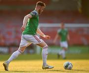 11 August 2020; Kevin O'Connor of Cork City during the Extra.ie FAI Cup First Round match between Cork City and Longford Town at Turners Cross in Cork. Photo by Eóin Noonan/Sportsfile