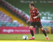 11 August 2020; Dylan Grimes of Longford Town during the Extra.ie FAI Cup First Round match between Cork City and Longford Town at Turners Cross in Cork. Photo by Eóin Noonan/Sportsfile