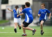 13 August 2020; Participants in action during the Bank of Ireland Leinster Rugby Summer Camp at Clontarf RFC in Dublin. Photo by Eóin Noonan/Sportsfile