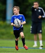 13 August 2020; Sam Morgan in action during the Bank of Ireland Leinster Rugby Summer Camp at Clontarf RFC in Dublin. Photo by Eóin Noonan/Sportsfile