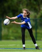 13 August 2020; Georgina Dunphy in action during the Bank of Ireland Leinster Rugby Summer Camp at Clontarf RFC in Dublin. Photo by Eóin Noonan/Sportsfile