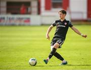 15 August 2020; Stephen Mallon of Derry City during the SSE Airtricity League Premier Division match between Shelbourne and Derry City at Tolka Park in Dublin. Photo by Stephen McCarthy/Sportsfile