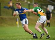 16 August 2020; Dara O'Donnell of Kilcar in action against Shane McDaid of Glenswilly during the Donegal County Senior Football Championship Round 1 match between Kilcar and Glenswilly at Towney Park in Kilcar, Donegal. Photo by Seb Daly/Sportsfile