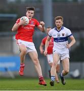 15 August 2020; Nathan Doran of Clontarf during the Dublin County Senior 1 Football Championship Group 3 Round 3 match between Clontarf and St. Vincent's at Parnell Park in Dublin. Photo by Ramsey Cardy/Sportsfile