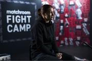 19 August 2020; Katie Taylor during a media day at Matchroom Fight Camp in Brentwood, Essex, England, in advance of her Undisputed Lightweight Championship bout against Delfine Persoon on Saturday night. Photo by Mark Robinson / Matchroom Boxing via Sportsfile
