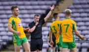 2 August 2020; Referee Thomas Murphy during the Galway County Senior Football Championship Group 4A Round 1 match between Corofin and Oughterard at Pearse Stadium in Galway. GAA matches continue to take place in front of a limited number of people due to the ongoing Coronavirus restrictions. Photo by Piaras Ó Mídheach/Sportsfile