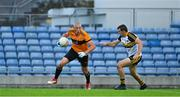 21 August 2020; Kieran Donaghy of Austin Stacks in action against Michael Moloney of Dr Crokes during the Kerry County Senior Football Championship Round 1 match between Dr Crokes and Austin Stacks at Austin Stack Park in Tralee, Kerry. Photo by Brendan Moran/Sportsfile