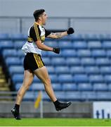 21 August 2020; Tony Brosnan of Dr Crokes celebrates after setting up his side's second goal during the Kerry County Senior Football Championship Round 1 match between Dr Crokes and Austin Stacks at Austin Stack Park in Tralee, Kerry. Photo by Brendan Moran/Sportsfile