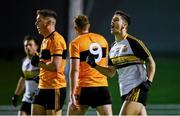21 August 2020; Tony Brosnan of Dr Crokes celebrates a late score during the Kerry County Senior Football Championship Round 1 match between Dr Crokes and Austin Stacks at Austin Stack Park in Tralee, Kerry. Photo by Brendan Moran/Sportsfile