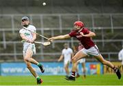 22 August 2020; Eoin O'Shea of O'Loughlin Gaels in action against Chris Kavanagh of Dicksboro during the Kilkenny County Senior Hurling League Final match between O'Loughlin Gaels and Dicksboro at UPMC Nowlan Park in Kilkenny. Photo by Harry Murphy/Sportsfile