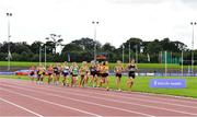 22 August 2020; A general view of the field during the Women's 5000m during Day One of the Irish Life Health National Senior and U23 Athletics Championships at Morton Stadium in Santry, Dublin. Photo by Sam Barnes/Sportsfile