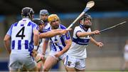 22 August 2020; Johnny Walsh of St Vincent's gets away from the challenge of Shane Durkin of Ballyboden St Enda's during the Dublin County Senior A Hurling Championship Quarter-Final match between St Vincent's and Ballyboden St Enda's at Parnell Park in Dublin. Photo by Piaras Ó Mídheach/Sportsfile