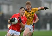 22 August 2020; Dara Moynihan of East Kerry in action against Eamon Flaherty of Feale Rangers during the Kerry County Senior Football Championship Round 1 match between Feale Rangers and East Kerry at Frank Sheehy Park in Listowel, Kerry. Photo by Brendan Moran/Sportsfile