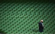22 August 2020; Former Leinster player and Premier Sports analyst Bernard Jackman prior to the Guinness PRO14 Round 14 match between Leinster and Munster at the Aviva Stadium in Dublin. Photo by David Fitzgerald/Sportsfile