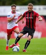 22 August 2020; Keith Ward of Bohemians during the SSE Airtricity League Premier Division match between Bohemians and St Patrick's Athletic at Dalymount Park in Dublin. Photo by Stephen McCarthy/Sportsfile