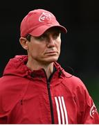 22 August 2020; Munster senior coach Stephen Larkham ahead of the Guinness PRO14 Round 14 match between Leinster and Munster at the Aviva Stadium in Dublin. Photo by Ramsey Cardy/Sportsfile