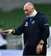 22 August 2020; Leinster scrum coach Robin McBryde ahead of the Guinness PRO14 Round 14 match between Leinster and Munster at the Aviva Stadium in Dublin. Photo by Ramsey Cardy/Sportsfile