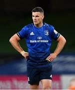 22 August 2020; Jonathan Sexton of Leinster during the Guinness PRO14 Round 14 match between Leinster and Munster at the Aviva Stadium in Dublin. Photo by Ramsey Cardy/Sportsfile