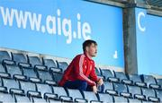 23 August 2020; Injured Cuala player Con O'Callaghan looks on during the Dublin County Senior A Hurling Championship Quarter-Final match between St Brigid's and Cuala at Parnell Park in Dublin. Photo by Piaras Ó Mídheach/Sportsfile