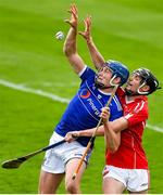 23 August 2020; Austin Gleeson of Mount Sion in action against Gary Cullinane of Passage during the Waterford County Senior Hurling Championship Semi-Final match between Mount Sion and Passage at Walsh Park in Waterford. Photo by Eóin Noonan/Sportsfile