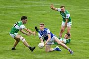 23 August 2020; Tommy Walsh of Kerins O'Rahillys in action against Jamie O'Sullivan, left, Jonathan Lyne and Podge O'Connor of Killarney Legion during the Kerry County Senior Football Championship Round 1 match between Killarney Legion at Kerins O'Rahilly's at Fitzgerald Stadium in Killarney, Kerry. Photo by Brendan Moran/Sportsfile