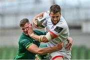23 August 2020; Stuart McCloskey of Ulster is tackled by Peter Sullivan of Connacht during the Guinness PRO14 Round 14 match between Connacht and Ulster at the Aviva Stadium in Dublin. Photo by Ramsey Cardy/Sportsfile