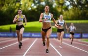 23 August 2020; Sophie Becker of Raheny Shamrock AC, Dublin, on her way to winning the Women's 400m during Day Two of the Irish Life Health National Senior and U23 Athletics Championships at Morton Stadium in Santry, Dublin. Photo by Sam Barnes/Sportsfile