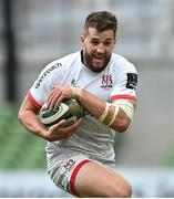 23 August 2020; Stuart McCloskey of Ulster during the Guinness PRO14 Round 14 match between Connacht and Ulster at the Aviva Stadium in Dublin. Photo by Ramsey Cardy/Sportsfile