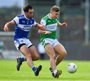 23 August 2020; James O'Donoghue of Killarney Legion in action against Cormac Coffey of Kerins O'Rahillys during the Kerry County Senior Football Championship Round 1 match between Killarney Legion at Kerins O'Rahilly's at Fitzgerald Stadium in Killarney, Kerry. Photo by Brendan Moran/Sportsfile