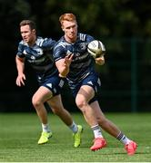 24 August 2020; Ciarán Frawley during Leinster Rugby squad training at UCD in Dublin. Photo by Ramsey Cardy/Sportsfile