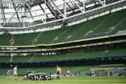 23 August 2020; A general view of the Aviva Stadium during the Guinness PRO14 Round 14 match between Connacht and Ulster at Aviva Stadium in Dublin. Photo by Stephen McCarthy/Sportsfile