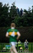 24 August 2020; Laois GAA video streamers work from a teleporter during the Laois County Senior Football Championship Round 1 match between Ballylinan and Portlaoise GAA at Stradbally GAA in Stradbaly, Laois. Photo by David Fitzgerald/Sportsfile