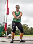 22 August 2020; Zoe Mohan of Cushinstown AC, Meath, competing in the Women's Hammer during Day One of the Irish Life Health National Senior and U23 Athletics Championships at Morton Stadium in Santry, Dublin. Photo by Sam Barnes/Sportsfile